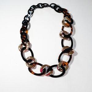 Arcylic Link Necklace